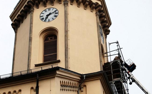Schallschutzfensterläden, Kirchturm St. Nicolai