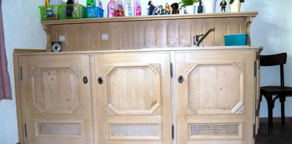 hauswirtschaftsschrank ratz pschera gmbh meister. Black Bedroom Furniture Sets. Home Design Ideas