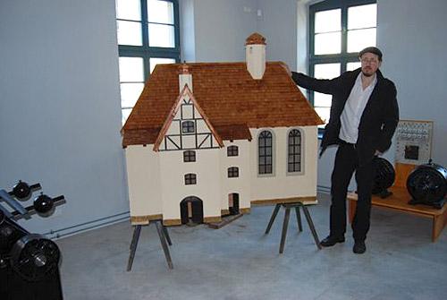 Kirchenmodell der Stadt Markneuirchen
