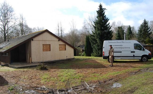 Umbau Ferienhaus Gartow