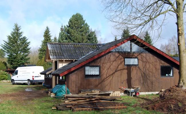Umbau Ferienhaus Gartow in Niedersachsen