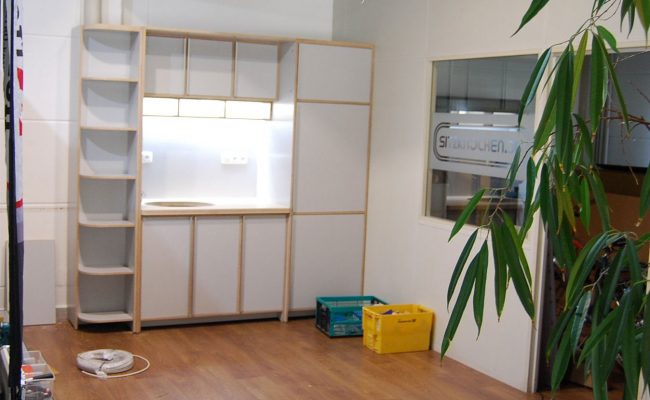 Küchen-Teil Showroom für Velometrik GmbH