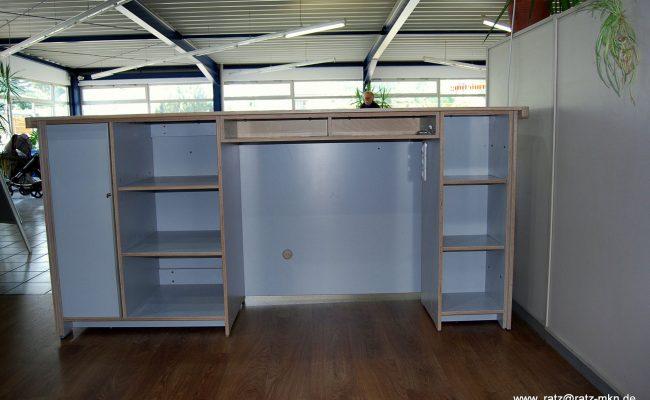 Küche und Tresen Showroom für Velometrik GmbH