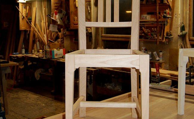 Finaler Stuhl-Prototyp
